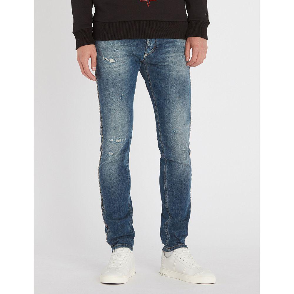 フィリップ プレイン メンズ ボトムス・パンツ ジーンズ・デニム【regular-fit straight jeans】Blue