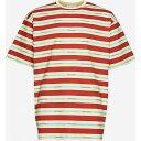 ドロール ド ムッシュ DROLE DE MONSIEUR メンズ Tシャツ トップスRed Stripe