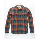 イズキール メンズ トップス シャツ【Brewers Flannel Shirt Jacket】BLUCO