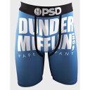 內衣褲, 睡衣 - ピーエスディー PSD メンズ インナー・下着 ボクサーパンツ【x The Office Dunder Mifflin Boxer Briefs】BLUE