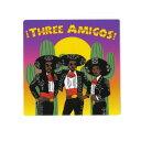 スティッキーブランディッツ STICKIE BANDITS メンズ ステッカー【Three Amigos Sticker】MULTI