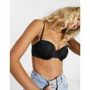 ダナ キャラン ニューヨーク DKNY レディース ブラジャーのみ インナー・下着【strapless bra in black】Dk black