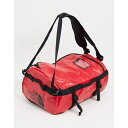 ショッピングボストンバッグ ザ ノースフェイス The North Face メンズ ボストンバッグ・ダッフルバッグ バッグ【Base Camp small duffel bag in red/black】Tnf red/tnf black