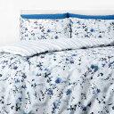 ショッピング掛け布団カバー イン ホームウェア in homeware ユニセックス 雑貨 掛け布団カバー【Duvet Set - Blue Floral】Blue/White