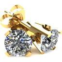 ポンペイ Pompeii3 レディース イヤリング・ピアス ジュエリー・アクセサリー【.20Ct Round Brilliant Cut Natural Diamond Stud Earrings Classic Set in 14K Gold】yellow gold
