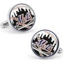 カフリンクス CUFFLINKS, INC. メンズ カフス・カフリンクス 【New York Mets Cuff Links】Black
