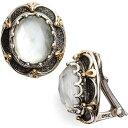 コンスタンティーノ KONSTANTINO レディース イヤリング・ピアス ジュエリー・アクセサリー【Semiprecious Stone Clip Earrings】Pearl