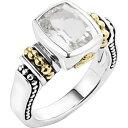 ラゴース LAGOS レディース 指輪・リング ジュエリー・アクセサリー【'Caviar Color' Small Semiprecious Stone Ring】White Topaz
