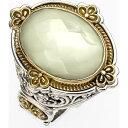 コンスタンティーノ KONSTANTINO レディース 指輪・リング ジュエリー・アクセサリー【'Selene' Semiprecious Stone Ring】Silver/Gold