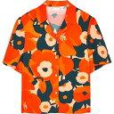 ショッピングORANGE ドリス ヴァン ノッテン Dries Van Noten レディース ブラウス・シャツ トップス【cabo orange floral-print shirt】Multi