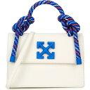ショッピングクラッチ オフホワイト Off-White レディース ハンドバッグ バッグ【Gummy Jitney 1.4 Nubuck Top Handle Bag】White