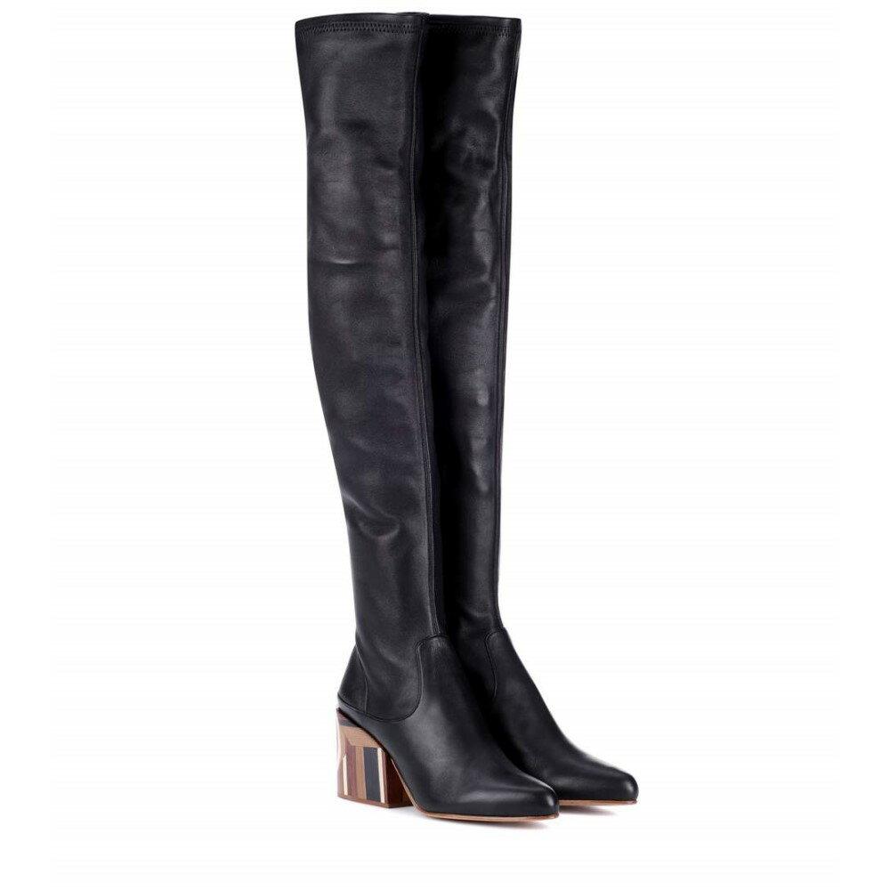 ガブリエラ ハースト レディース シューズ・靴 ブーツ【Catlett over-the-knee leather boots】Black