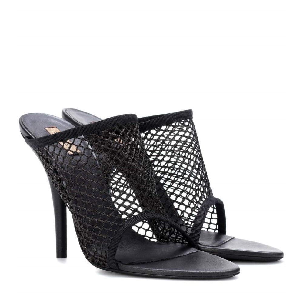 アディダス イージー レディース シューズ・靴 サンダル・ミュール【Mesh sandals (SEASON 6)】Graphite