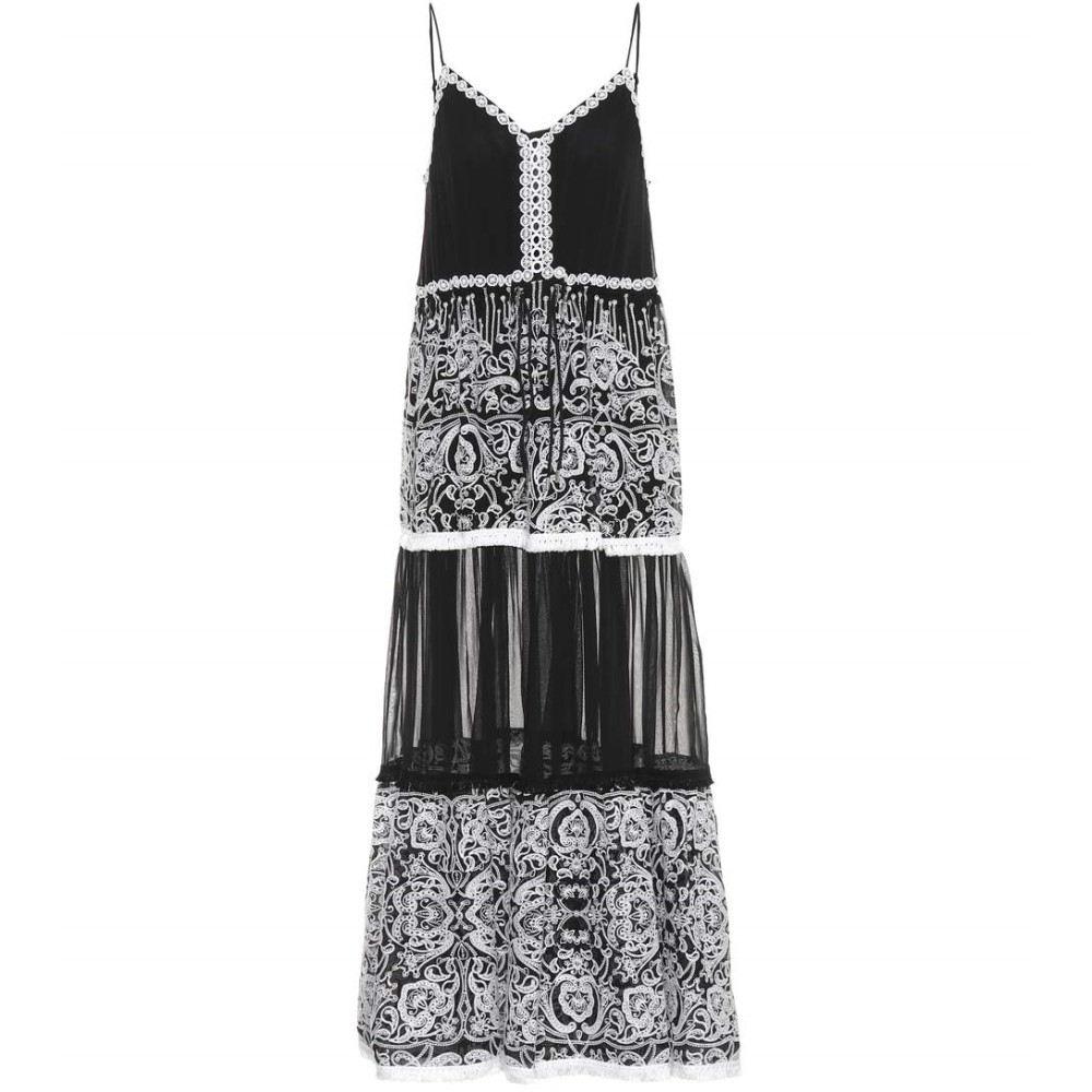 ジョナサン シンカイ レディース 水着・ビーチウェア ビーチウェア【Embellished sleeveless dress】Black