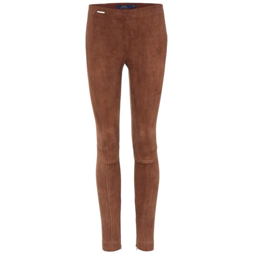 ラルフ ローレン レディース インナー・下着 スパッツ・レギンス【Suede leggings】Saxony Brown