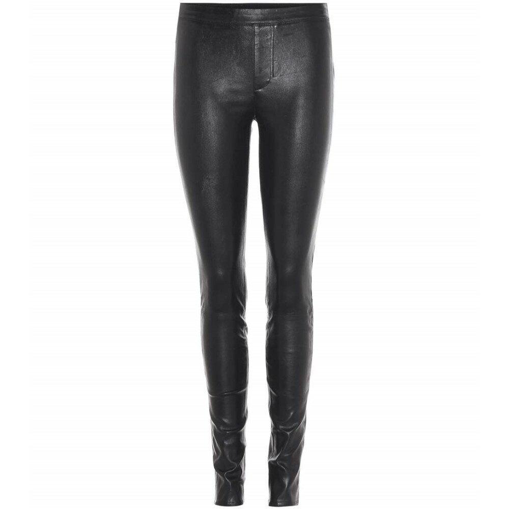 ヘルムート ラング レディース インナー・下着 スパッツ・レギンス【Leather trousers】Black