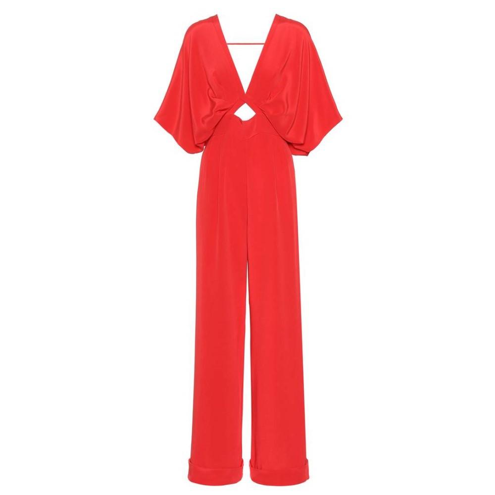 ジョアンナオッティ レディース ワンピース・ドレス オールインワン【Canna silk jumpsuit】Red