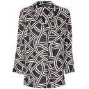 マックスマーラ レディース トップス ブラウス・シャツ【Selim silk twill shirt】Multi