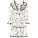 ジマーマン レディース ワンピース・ドレス ワンピース【Jaya embroidered linen minidress】Cream