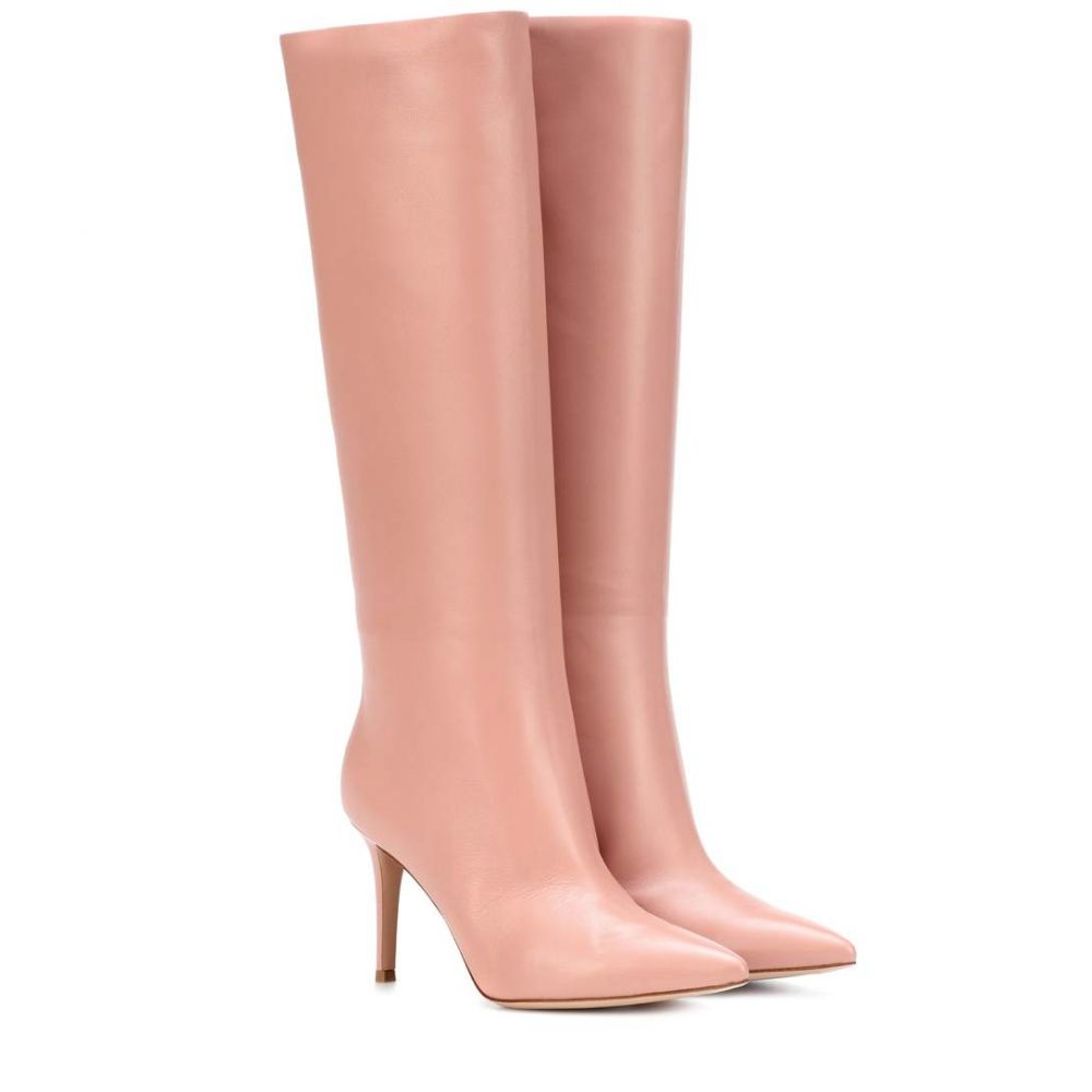 ジャンヴィト ロッシ レディース シューズ・靴 ブーツ【Suzan 85 leather boots】Dahlia
