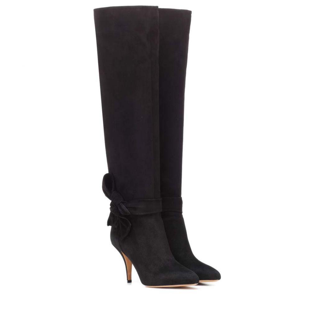 ヴァレンティノ Valentino レディース シューズ・靴 ブーツ【Garavani suede boots】Black