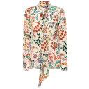 еие╚еэ Etro еье╟егб╝е╣ е╚е├е╫е╣ е╓ещеже╣бже╖еуе─б┌Printed silk blouseб█