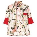 ショッピングストレス フォーレストレススリーパーズ F.R.S For Restless Sleepers レディース トップス ブラウス・シャツ【Pistis Plumeria silk pajama shirt】F.Do Rosa