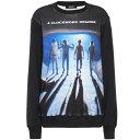 アンダーカバー Undercover レディース スウェット・トレーナー トップス【printed cotton-jersey sweatshirt】Black