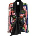 ハルパーン Halpern レディース ジャケット アウター【Satin-Trimmed Sequined Jacket】Multicolor