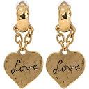 イヴ サンローラン Saint Laurent レディース イヤリング・ピアス ジュエリー・アクセサリー【Love clip-on earrings】