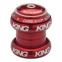 クリス キング Chris King ユニセックス 自転車【NoThreadSet Headset】Red