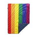 ショッピングブランケット ルンプル Rumpl ユニセックス 雑貨 ブランケット【puffy throw printed blanket】Pride Flag