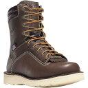 ショッピングウェッジソール ダナー Danner メンズ ブーツ ウェッジソール シューズ・靴【quarry usa 8in wedge gtx boot】Brown