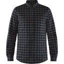 ショッピングネルシャツ フェールラーベン Fjallraven メンズ シャツ フランネルシャツ トップス【Ovik Flannel Shirt】Dark Navy