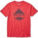 マーモット Marmot メンズ Tシャツ トップス【Mono Ridge SS Tee】Red Heather