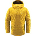 ショッピングノルディック ホグロフス Haglofs メンズ ジャケット アウター【Nordic Mimic Hoodie】Pumpkin Yellow/True Black