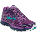 慢跑, 馬拉松 - ブルックス レディース ランニング・ウォーキング シューズ・靴【Brooks Adrenaline ASR 12 Trail Running Shoe】Purple Cactus Flower / Bluebird / Blue Print