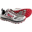 アルトラ メンズ 陸上 シューズ・靴【Altra Lone Peak 3.0 Low NeoShell Shoe】Grey / Red