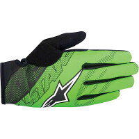 アルパインスターズ メンズ 自転車 グローブ【Alpine Stars Stratus Glove】Bright Green / Blackの画像