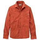 ティンバーランド メンズ トップス シャツ【Timberland Flannel Heathered LS Shirt】Ginger Bread Heather