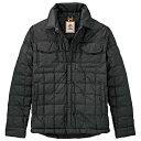 ティンバーランド メンズ アウター ジャケット【Timberland Thermofibre Shirt Jacket】Black