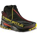 慢跑, 馬拉松 - ラスポルティバ メンズ ランニング・ウォーキング シューズ・靴【La Sportiva Crossover 2.0 GTX Shoe】Black / Yellow