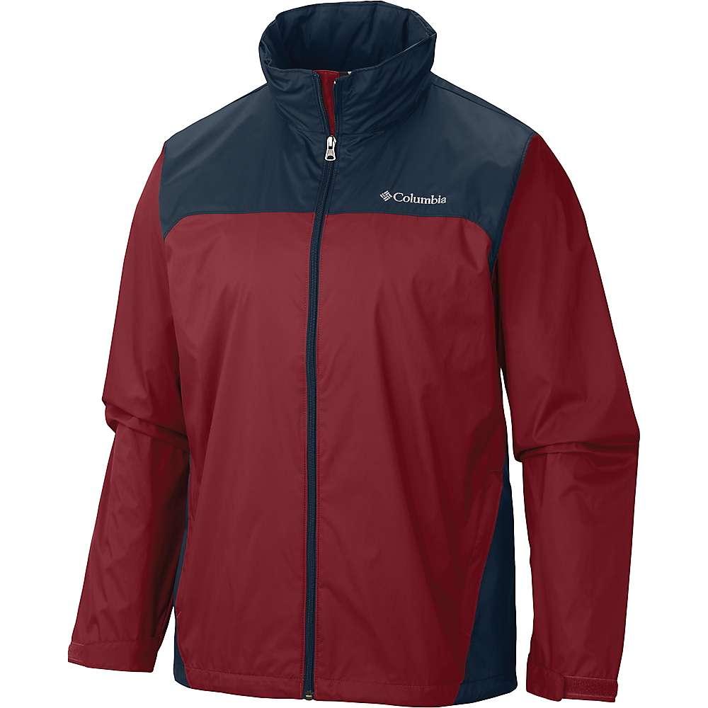コロンビア メンズ アウター レインコート【Columbia Glennaker Lake Rain Jacket】Mountain Red / Graphite
