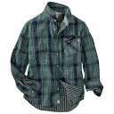ティンバーランド メンズ トップス シャツ【Timberland Double Layer Plaid LS Shirt】Timberland Wheat YD Plaid