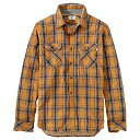 ティンバーランド メンズ トップス シャツ【Timberland Double Layer Plaid LS Shirt】Timberland Wheat