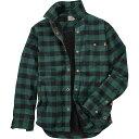 ティンバーランド メンズ アウター ジャケット【Timberland Sherpa Lined Shirt Jacket】Green Gables YD