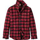 ティンバーランド メンズ アウター ジャケット【Timberland Sherpa Lined Shirt Jacket】Tibetan Red YD