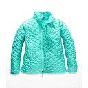 ザ ノースフェイス レディース アウター ダウンジャケット【ThermoBall Jacket】Mint Blue