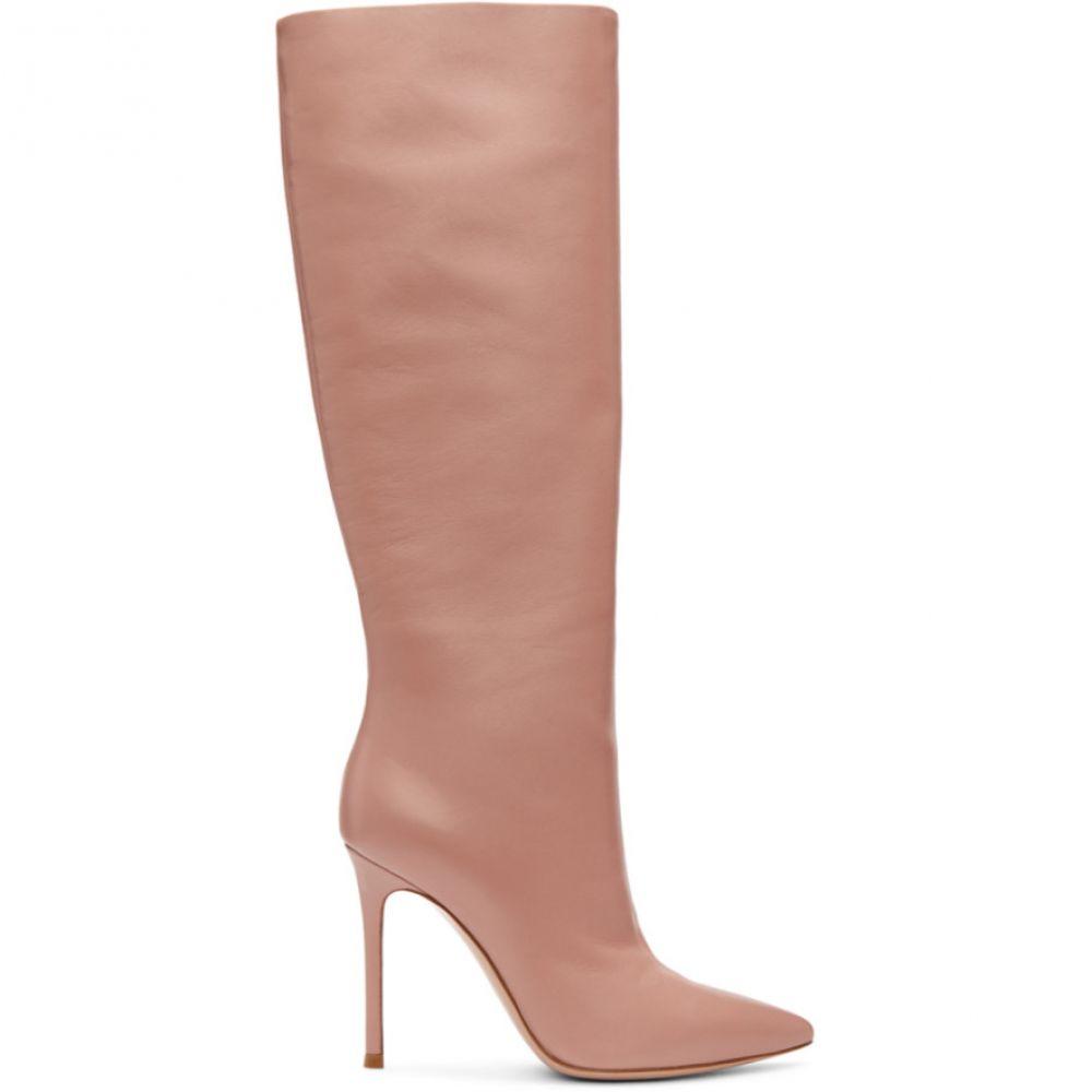 ジャンヴィト ロッシ レディース シューズ・靴 ブーツ【Pink Suzan Boots】