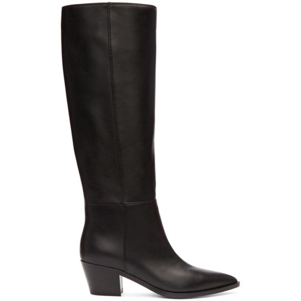 ジャンヴィト ロッシ レディース シューズ・靴 ブーツ【Black Daenerys Knee-High Boots】